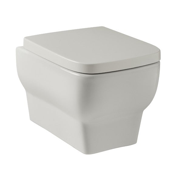 POT671KO and POT667KO Kartell Korsika Wall Hung WC with Soft Close Seat