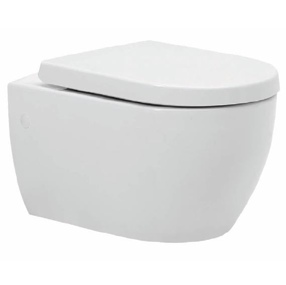 POT224MK/221MK Kartell Metro-K Wall Hung WC with Soft Close Seat