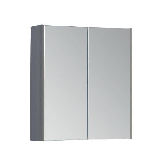 FUR299OP Kartell Options 600mm Mirror Cabinet - Basalt Grey