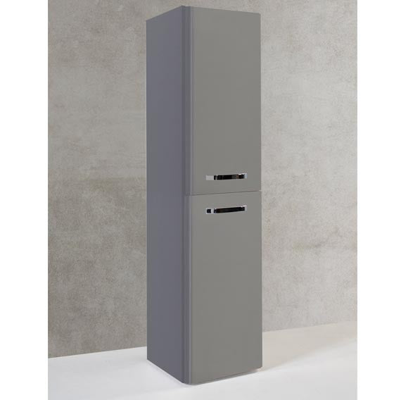 FUR289OP Kartell Options Wall Mounted Side Unit - Basalt Grey