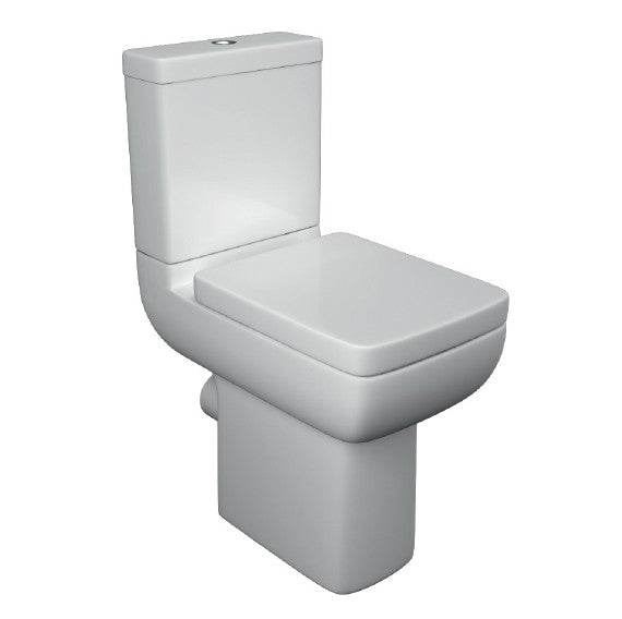 Options 600 Comfort Height Close Coupled Toilet with Soft Close Seat