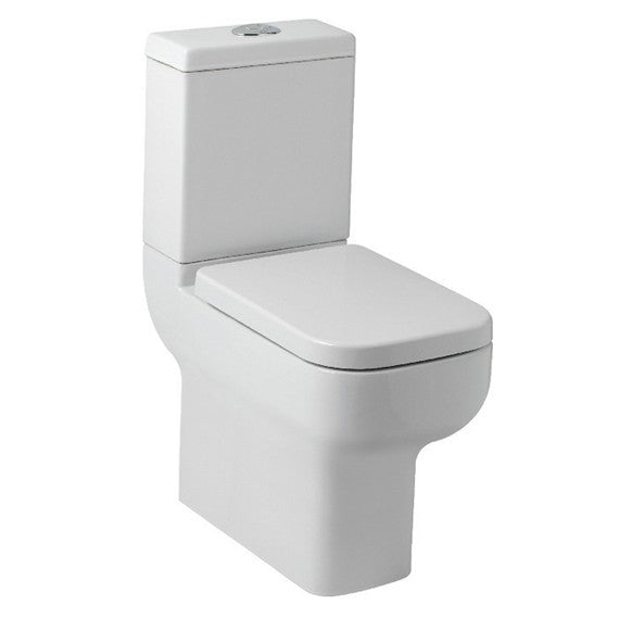 Options 600 Close Coupled Toilet with Soft Close Seat