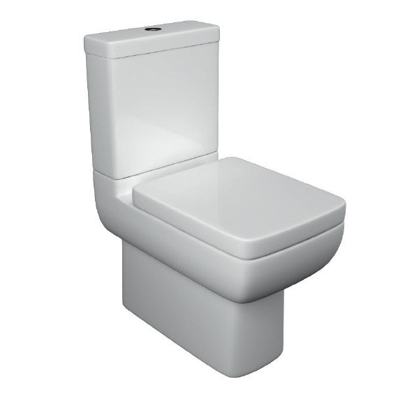 Options 600 Close to Wall Close Coupled Toilet with Soft Close Seat