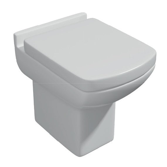Kartell Pure Back To Wall Toilet with Soft Close Seat