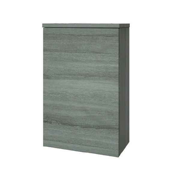 FUR085PU Kartell K-Vit Purity 505mm WC Unit with Concealed Cistern - Grey Ash