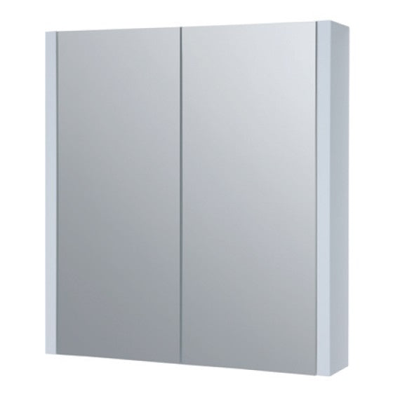 FUR110PU Kartell K-Vit White Purity 600mm Mirror Cabinet