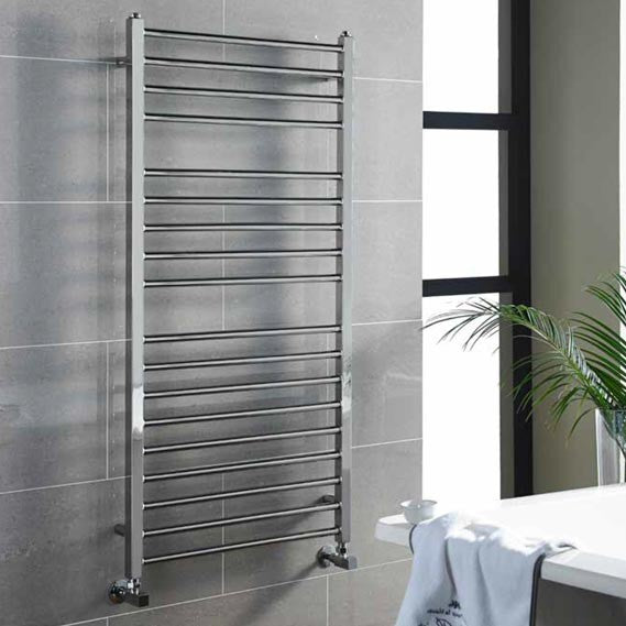 Kartell Metro Stainless Steel Heated Towel Rail 500 x 1200mm