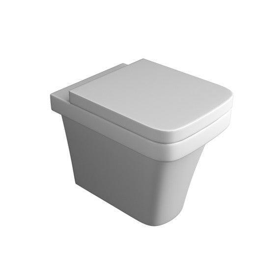K-Vit Sicily Back-To-Wall Close Coupled Toilet with Soft Close Seat
