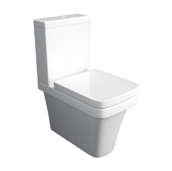 Sicily Close-To-Wall Close Coupled Toilet with Soft Close Seat