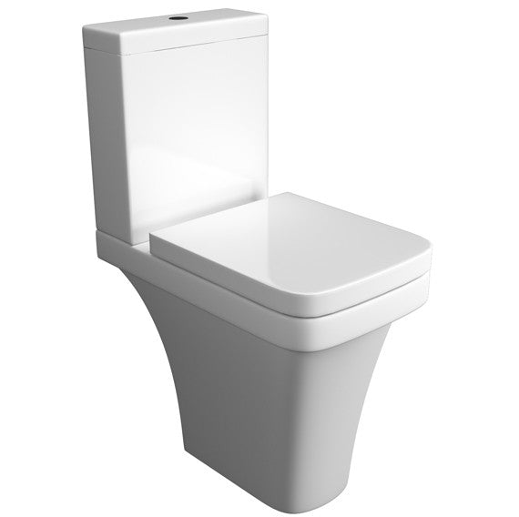 Sicily Comfort Height Close Coupled Toilet with Soft Close Seat