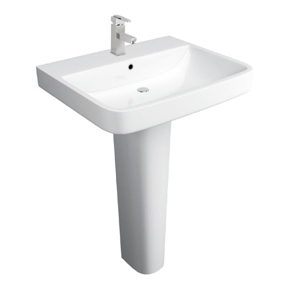 Sicily 550mm Basin and Full Pedestal