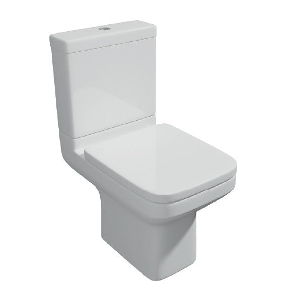 Trim Close Coupled Toilet with Soft Close Seat