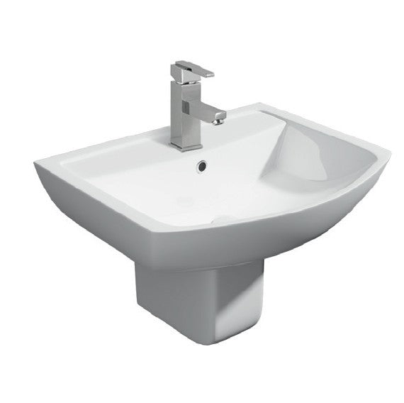 Kartell Pure Basin and Semi Pedestal