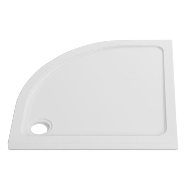 Stone Resin 45mm Low Profile Quadrant and Offset Quadrant Shower Trays