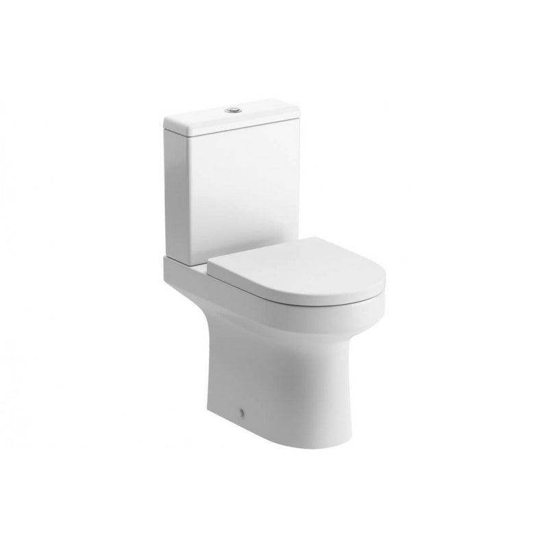 Laurus Comfort Height Close Coupled Toilet with Soft Close Seat