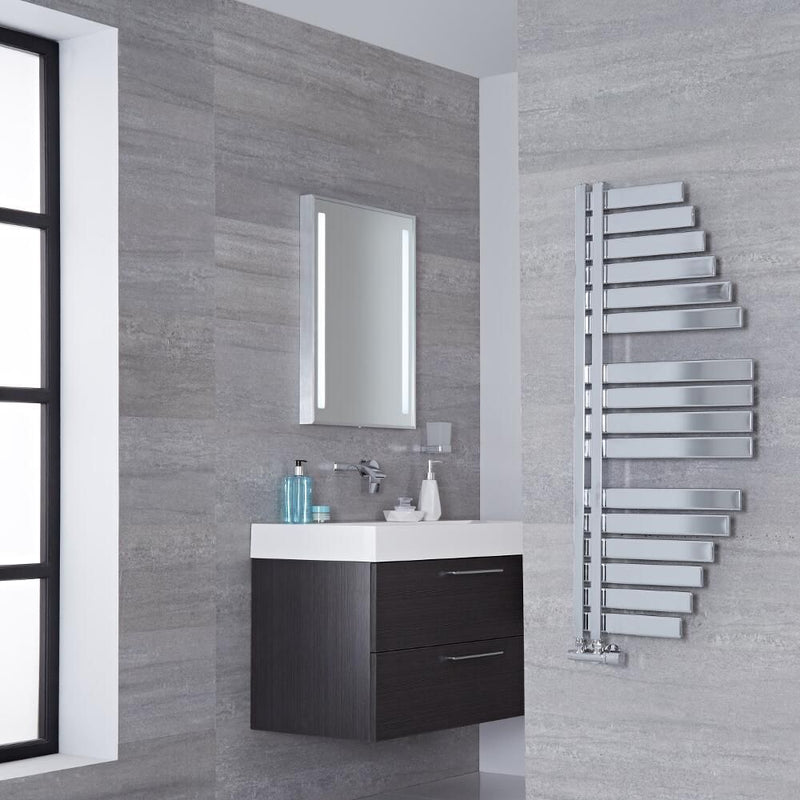 Spinnaker Chrome Designer Towel Radiator