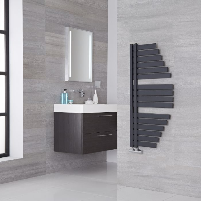 Spinnaker Anthracite Designer Towel Radiator