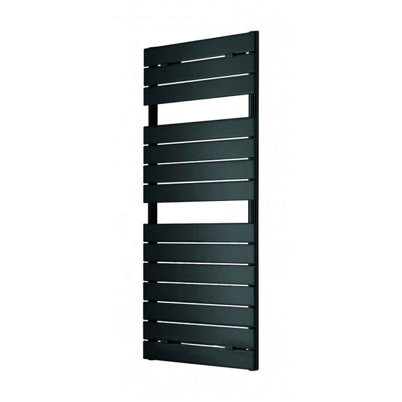 Palermo Designer Anthracite Towel Rail 500 x 1213mm