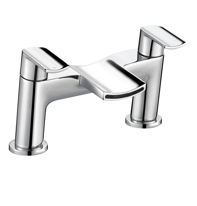 Leo Bath Filler Chrome