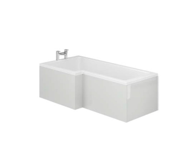 Manor Light Grey L Shape Shower Bath Panels