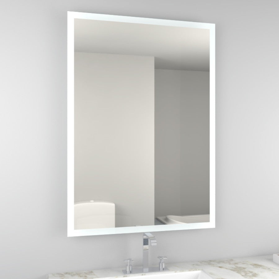 Manton 700 x 500mm Led Mirror Shaving Socket and Demister