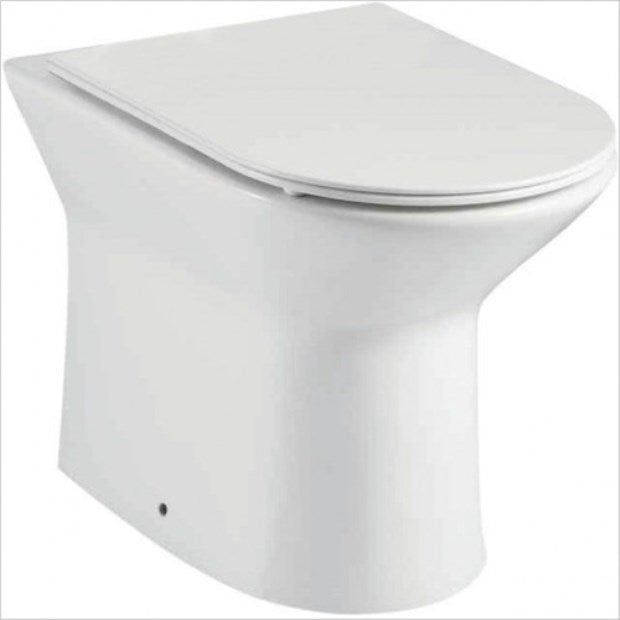Middleton Rimless BTW Pan And Slimline Soft Close Seat