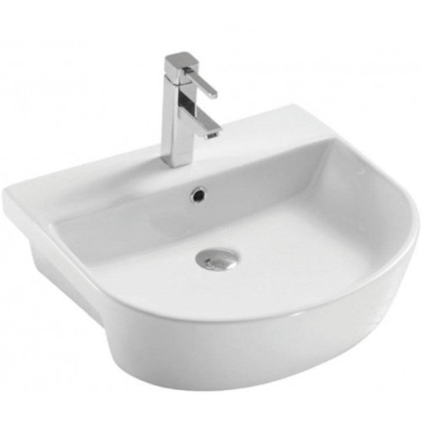 Middleton 560mm Semi Recess Basin