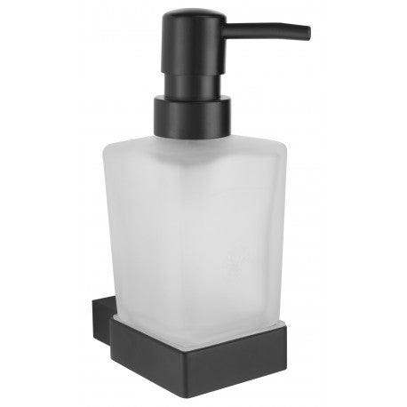 Mono Soap Dispenser and Holder Matt Black