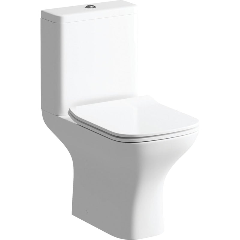 Cedarwood Close Coupled Toilet with Soft Close Seat
