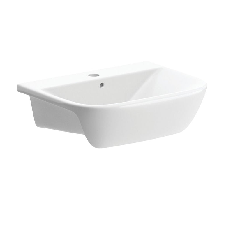 Cedarwood 520mm Semi Recess Basin