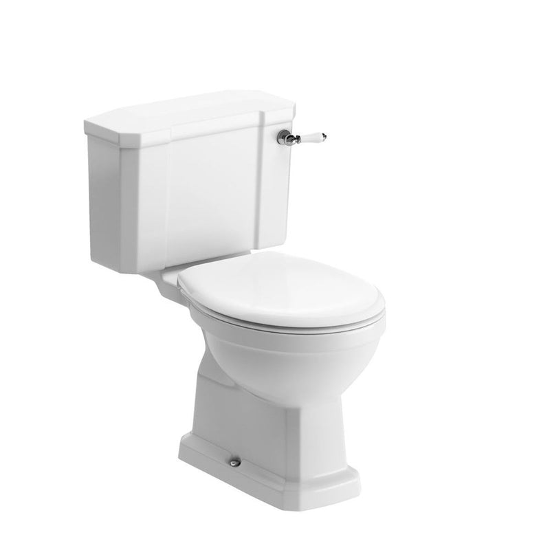 Sherbourne Close Coupled Pan, Cistern And Soft Close Seat