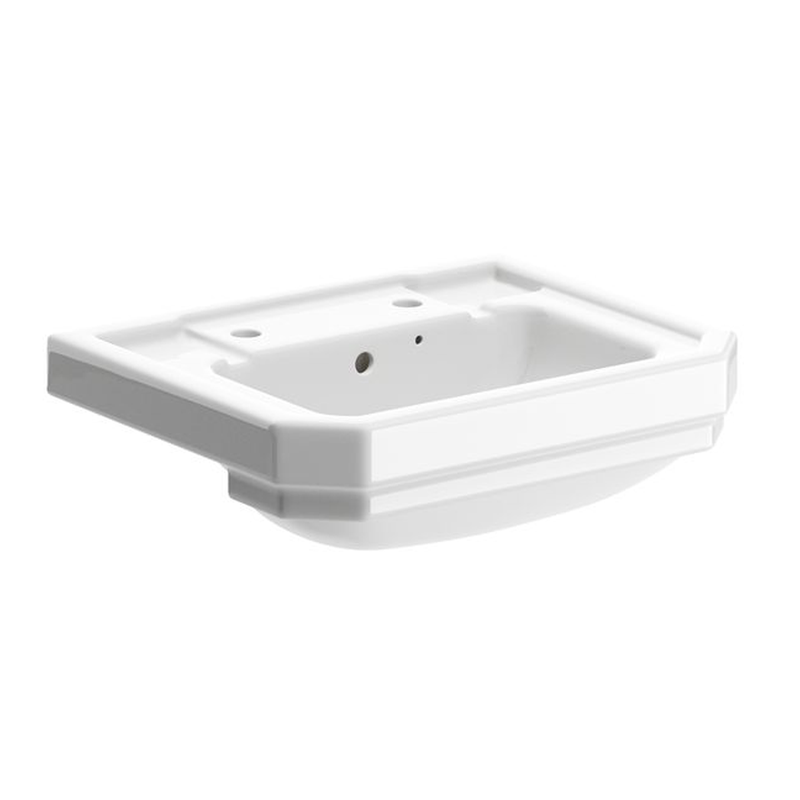 Sherbourne Traditional 550mm Semi Recess Basin