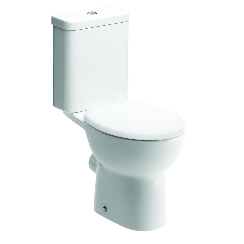 Tuscany Close Coupled Toilet with Soft Close Seat