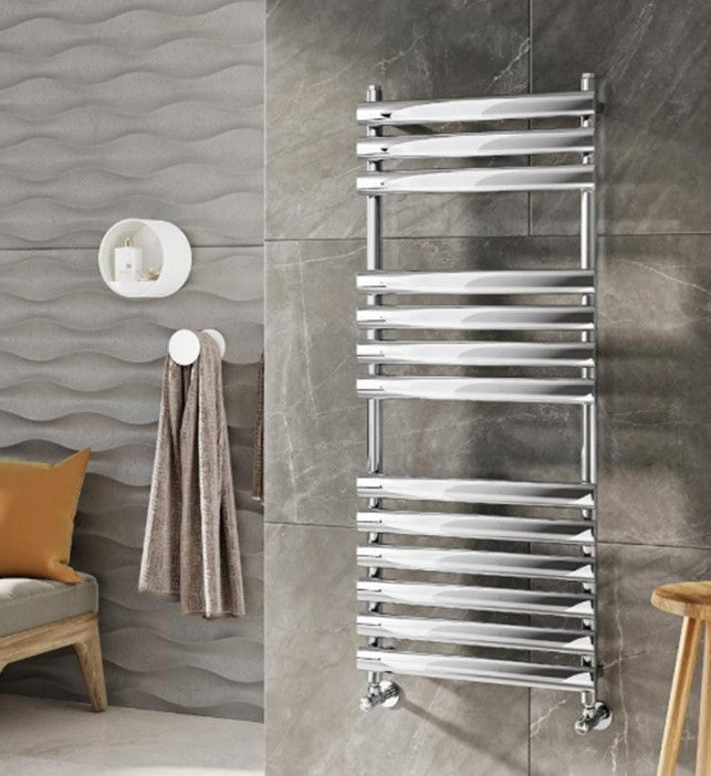 Nuevita Designer Towel Radiator Chrome 500 x 1200mm