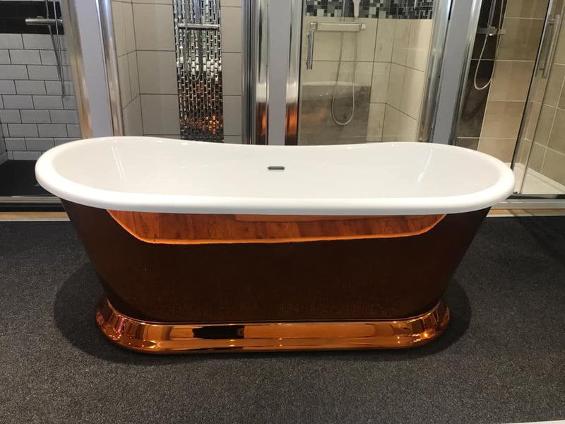 Charlotte Edwards Rosemary Copper Freestanding Bath