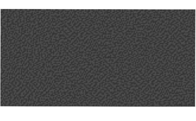 Pixel Charcoal Matt Ceramic Tiles, Box of 8