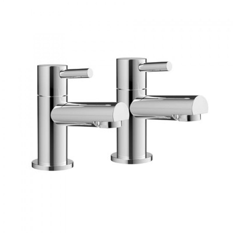 Premier Pair Of Bath Taps Chrome
