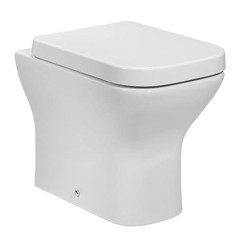 Project Square BTW Toilet with Soft Close Seat