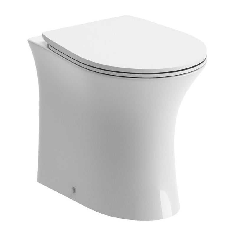 Sandro Rimless BTW Toilet with Slimline Soft Close Seat