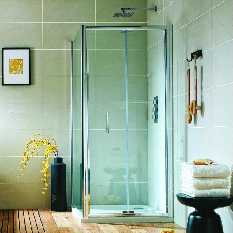 S6 1000mm Bifold Door 6mm Easy Clean Glass