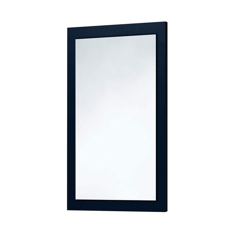 Indigo Blue Wooden Frame Mirror 600 x 900mm