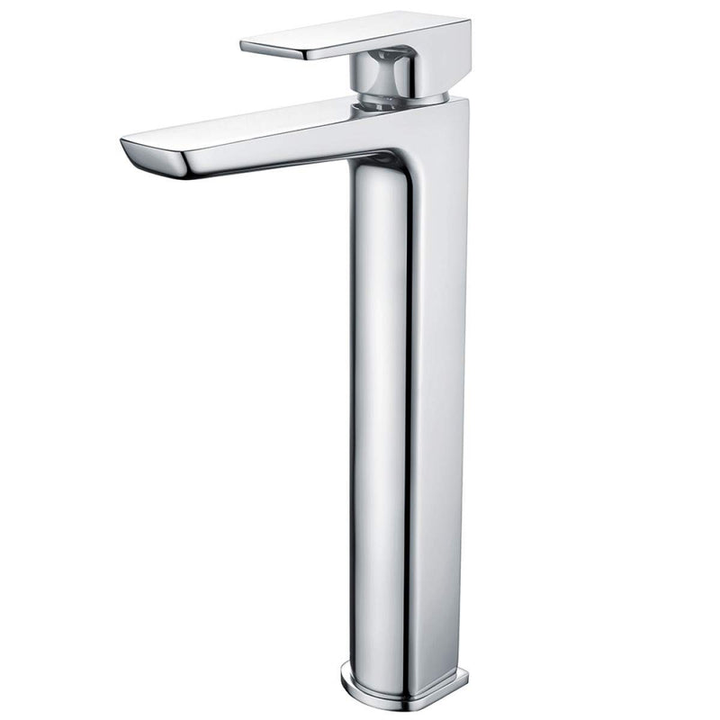 Muro Tall Mono Basin Mixer Chrome