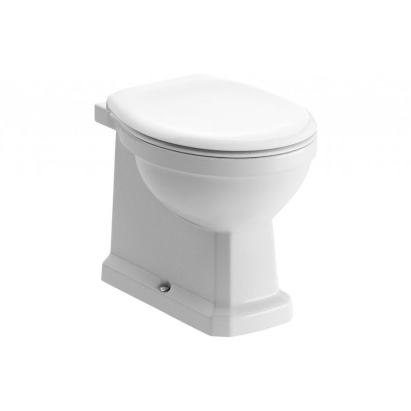 Sherbourne BTW Toilet with Soft Close Seat