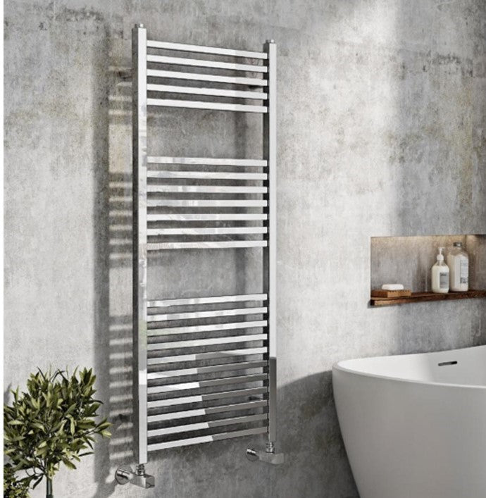 Simona Designer Towel Radiator Chrome 500 x 800mm