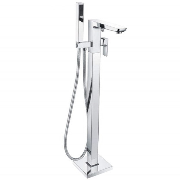 Muro Freestanding Bath Shower Mixer Tap Chrome