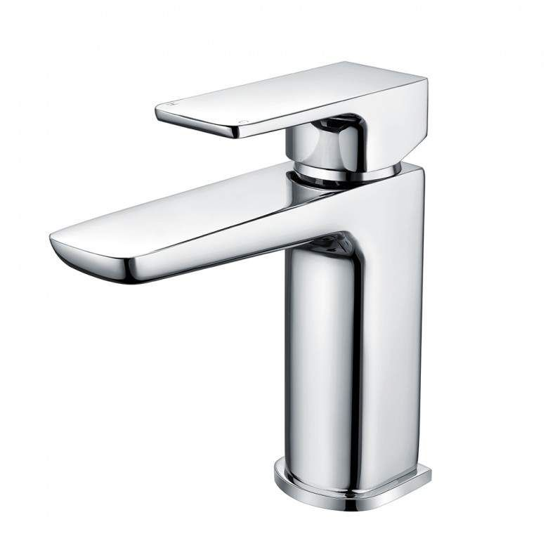 Muro Mini Mono Basin Mixer Chrome