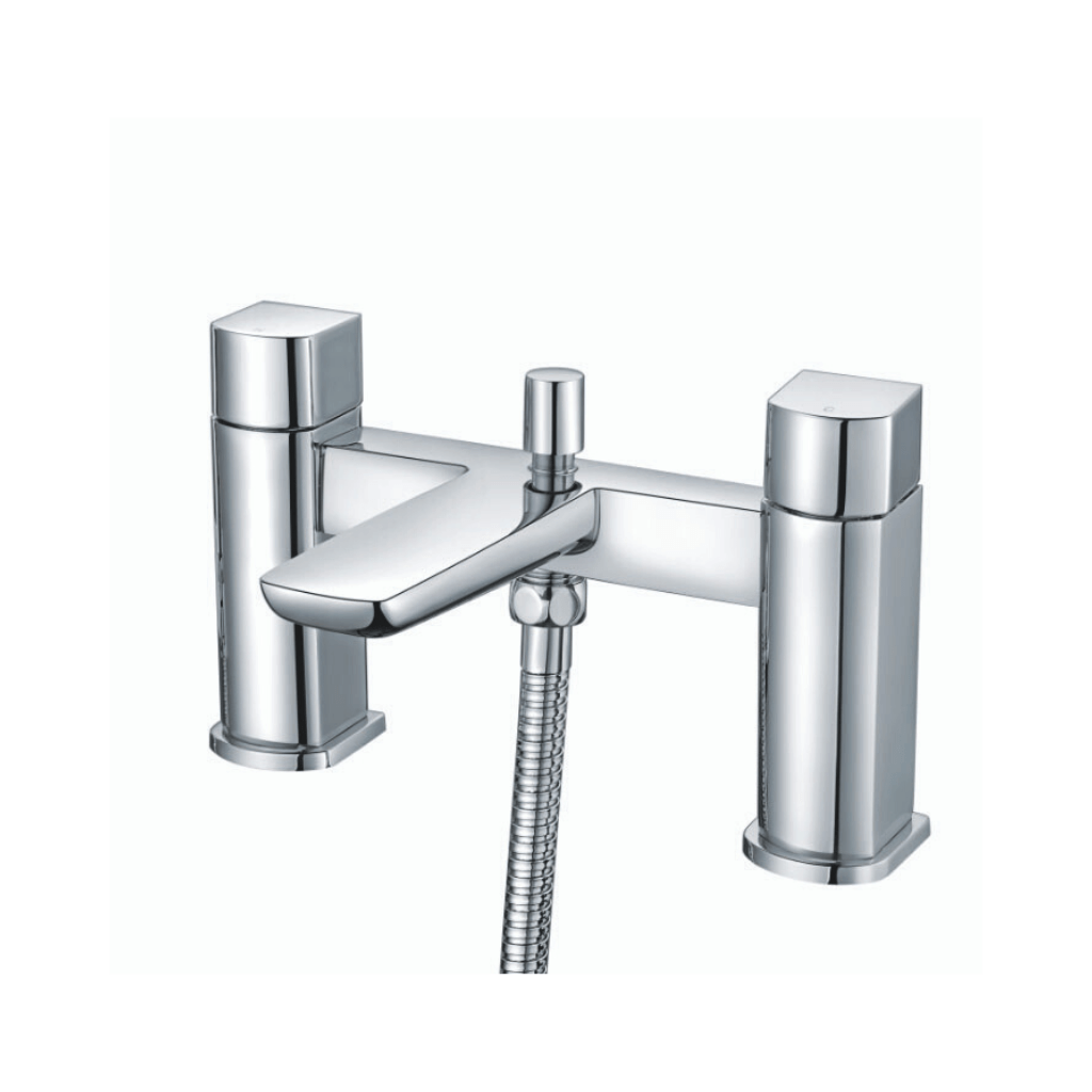 Muro Bath Shower Mixer Chrome