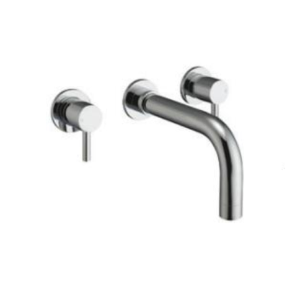 Premier Wall Mounted Basin Mixer Chrome