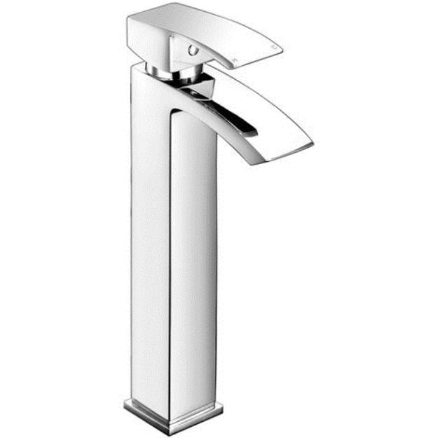 Descent Tall Mono Basin Mixer Chrome