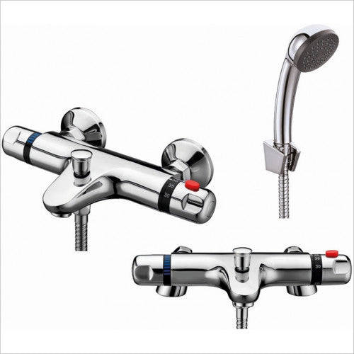 Tidy Thermostatic Bath Shower Mixer Chrome